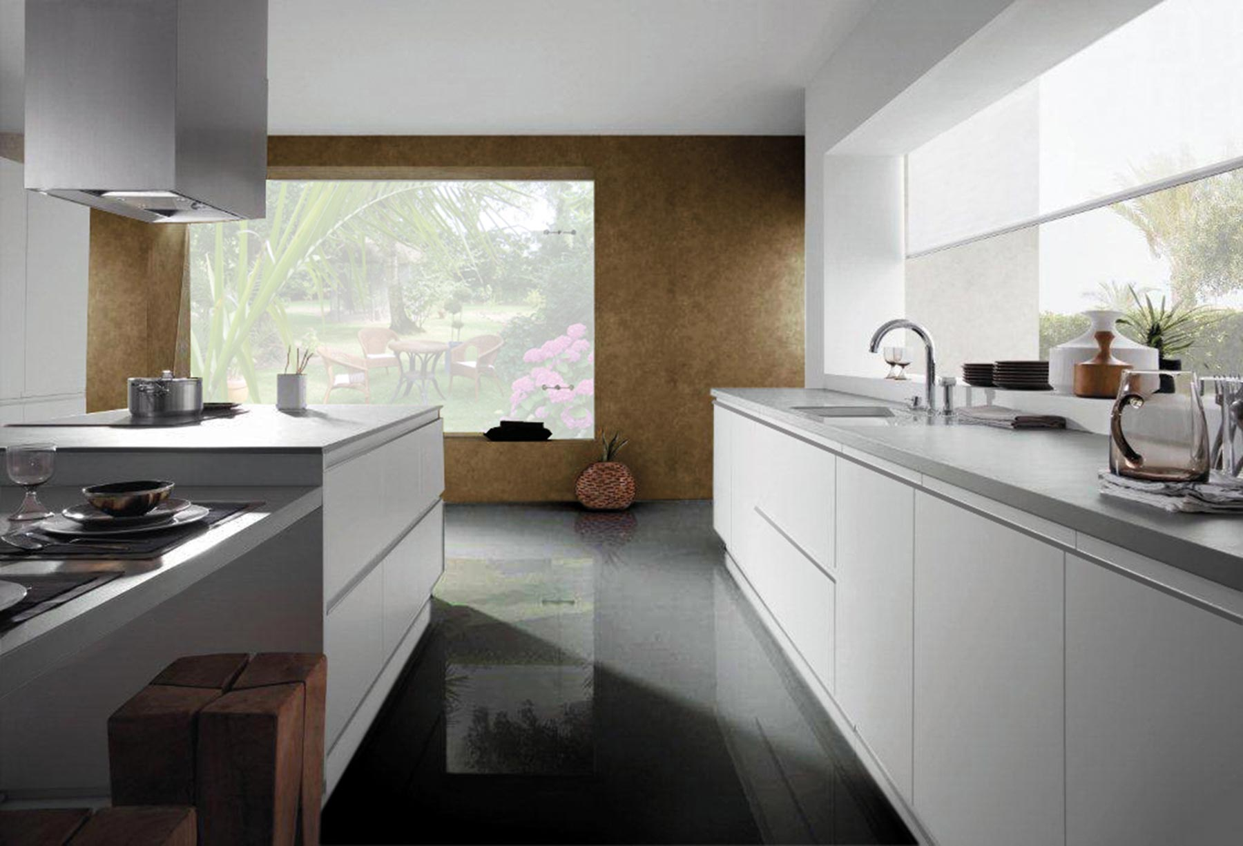Cocinas 5 miguel jaume for Cocinas modernas blancas precios